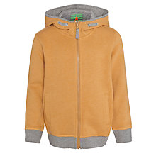 Buy John Lewis Boy Melange Hoody, Mustard Online at johnlewis.com