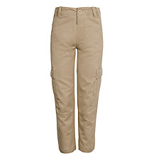 Buy John Lewis Boy Cargo Trousers Online at johnlewis.com