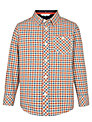 John Lewis Boy Long Sleeved Check Oxford Shirt