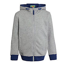 Buy John Lewis Boy Melange Hoody, Grey Online at johnlewis.com