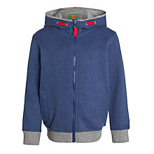 Buy John Lewis Boy Melange Hoody, Navy Online at johnlewis.com