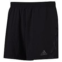 "Buy Adidas Supernova 5"" Shorts, Black Online at johnlewis.com"