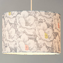 Buy John Lewis Haven Flower Shade, Grey/ Sulphur Online at johnlewis.com