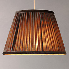 Buy John Lewis Silk Velvet Taper Drum Shade Online at johnlewis.com