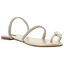 Buy Dune Kate Diamante Sandals Online at johnlewis.com