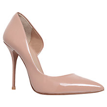 Buy Kurt Geiger Anja Aysmmetric Court Shoes, Nude Patent Online at johnlewis.com