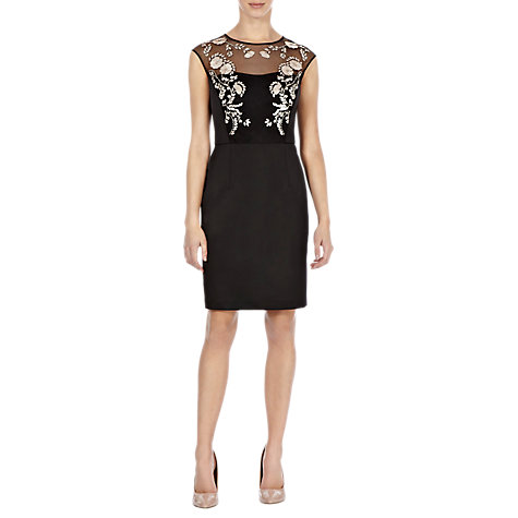 Buy Coast Hermosa Dress, Black Online at johnlewis.com