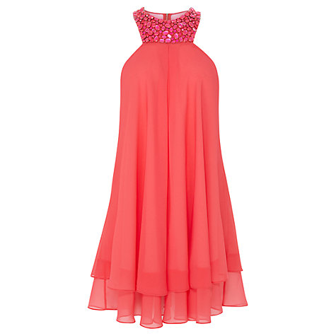 Buy Coast Ambra Short Dress, Pink Online at johnlewis.com