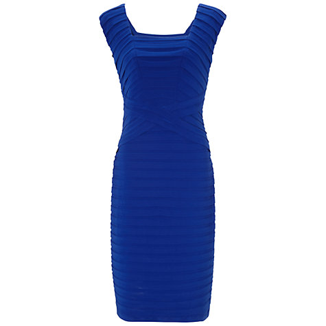 Buy Gina Bacconi Jersey Bandage Dress, Summer Blue Online at johnlewis.com