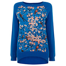Buy Oasis April Jumper, Rich Blue Online at johnlewis.com