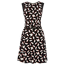 Buy Oasis Butterfly Dress, Multi Black Online at johnlewis.com
