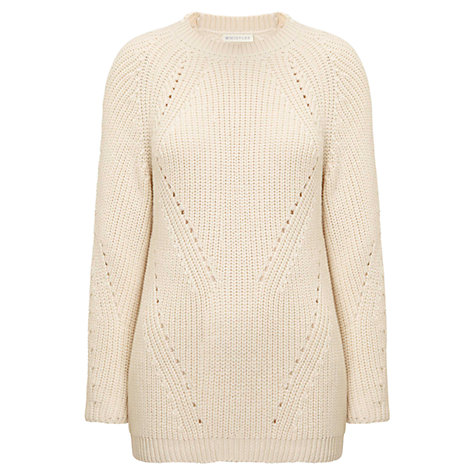 Buy Whistles Tessi Fashioned Rib Knit Jumper Online at johnlewis.com