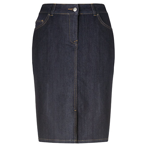 Buy Jigsaw Denim Skirt, Indigo Online at johnlewis.com