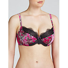 Buy Somerset by Alice Temperley Chinoiserie DD Plus Balcony Bra, Pink / Multi Online at johnlewis.com