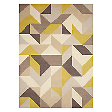 Buy John Lewis Holm Rug, Putty/ Citrine Online at johnlewis.com