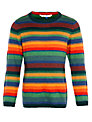 John Lewis Boy Stripe Knit Jumper, Multi