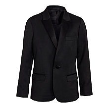 Buy John Lewis Boy Tuxedo Jacket, Black Online at johnlewis.com