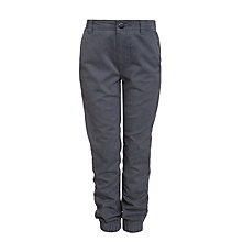 Buy Kin by John Lewis Boys' Cuff Hem Chinos, Grey Online at johnlewis.com