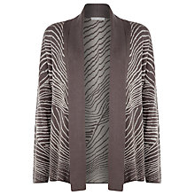 Buy Windsmoor Matt and Shine Cardigan, Espresso Online at johnlewis.com