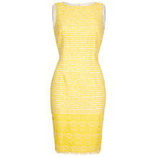 Buy Damsel in a dress Angel Fall Dress, Lemon Online at johnlewis.com