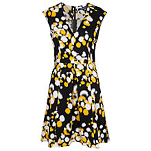 Buy French Connection Open Palette Cotton-Blend Dress, Black Multi Online at johnlewis.com