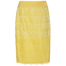 Buy Damsel in a dress Angel Fall Skirt, Lemon Online at johnlewis.com