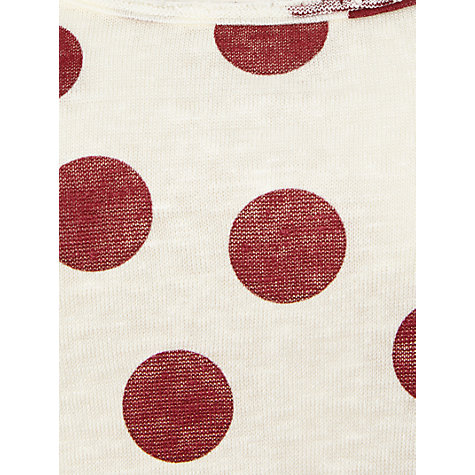 Buy White Stuff Pacific Spot Print T-Shirt Online at johnlewis.com