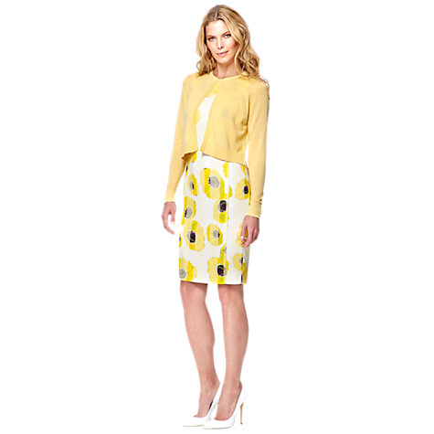 Buy Damsel in a dress Siesta Cardigan, Yellow Online at johnlewis.com
