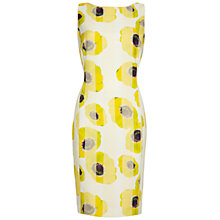 Buy Damsel in a dress Alaska Print Dress, Yellow Online at johnlewis.com