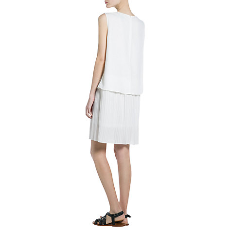 Buy Mango Contrast Bodice Dress Online at johnlewis.com