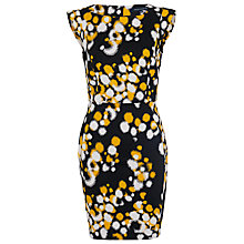 Buy French Connection Cotton-Blend Boat Neck Dress, Black Online at johnlewis.com