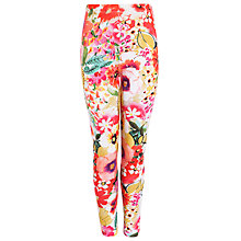 Buy John Lewis Girl Floral Print Leggings, Multi Online at johnlewis.com