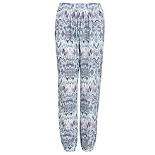 Buy Loved & Found Girls' Aztec Print Trousers, Lilac/Blue Online at johnlewis.com