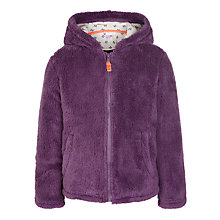 Buy John Lewis Girl Fluffy Fleece Zip-Through Jumper Online at johnlewis.com