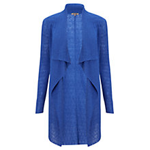 Buy Jigsaw Lace Stitch Drape Cardigan Online at johnlewis.com