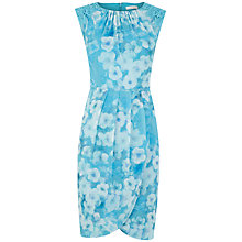 Buy Kaliko Marina Floral Printed Lace Dress, Blue Online at johnlewis.com