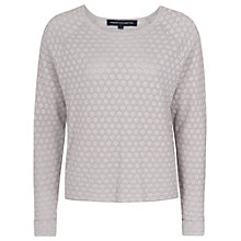 Buy French Connection Reversible Spot Jumper, Powder Grey Online at johnlewis.com