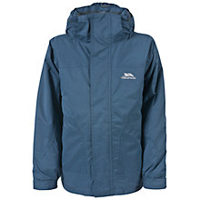 Buy Trespass Boys' Stockholm Jacket, Navy Online at johnlewis.com