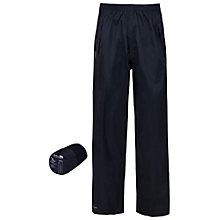Buy Trespass Boys' Packaway Trousers, Navy Online at johnlewis.com