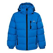 Buy Trespass Boys' Tuff Padded Jacket, Blue Online at johnlewis.com