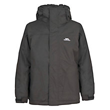 Buy Trespass Stockholm Waterproof Jacket, Black Online at johnlewis.com