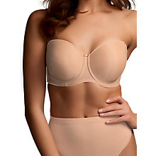 Buy Fantasie Smoothing Strapless DD Plus Bra Online at johnlewis.com