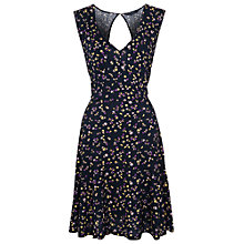 Buy French Connection Clover Bugs Jersey Dress, Utility Blue Multi Online at johnlewis.com