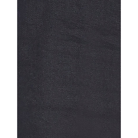Buy Precis Petite Linen Trousers, Black Online at johnlewis.com