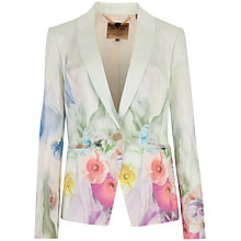Buy Ted Baker Beneva Sugar Sweet Floral Jacket, Pale Green Online at johnlewis.com