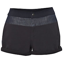 Buy French Connection Beaumont Cotton Mini Shorts, Dark Indigo Online at johnlewis.com