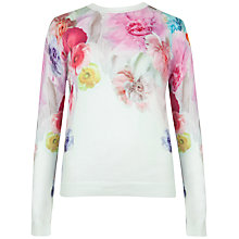 Buy Ted Baker Adiele Sugar Jumper, Pale Green Online at johnlewis.com