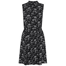Buy NW3 By Hobbs Constable Floral Dress, Black Online at johnlewis.com