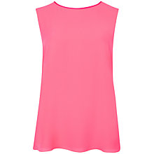 Buy Ted Baker Alys Contrast Top, Mid Pink Online at johnlewis.com