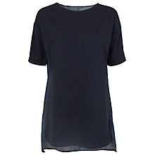 Buy French Connection Beaumont Tunic Dress, Dark Indigo Online at johnlewis.com